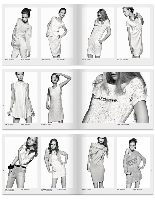 Look Book Spring/Summer 2012